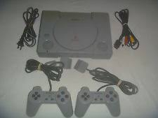 sony playstation 1. original sony playstation 1 ps1 system console gray great condition scph-5501 r