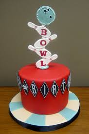 Bowling Pin Cake Decorations 100 best Cakes images on Pinterest Kitchen Biscuits and Birthday 33