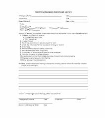 Employee Warning Form Free Employee Warning Letter Tardy Form Write Up Bindext Co