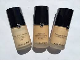 Armani Designer Foundation Review Giorgio Armani Foundations Review And Comparison Makeup