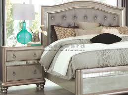 Modern And Elegant, Bring Hollywood Glamour Into Your Master Bedroom Suite  When You Add This