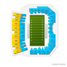 Yulman Stadium 2019 Seating Chart