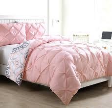pink ruffle bedding 2 piece twin reversible comforter set in pink prepare pink ruffle full size