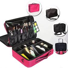 high capacity cosmetic storage box multi y professional portable make up package female