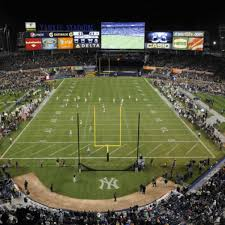 Yankee Stadium Seating Chart Pinstripe Bowl Notre Dame Football Pinstripe Bowl Tickets Go On Sale