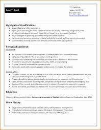 Resume For College Student With No Work Experience Resume Online