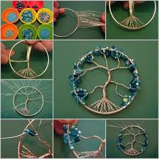 How To Make Small Dream Catchers Enchanting How To Make A Dreamcatcher Dream Catcher Tutorial How It Works