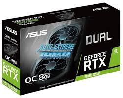 <b>Видеокарта ASUS DUAL GeForce</b> RTX 2080 SUPER 1830MHz ...
