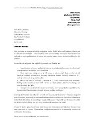 Nursing Resume Cover Letter Template Nurse Cover Letter