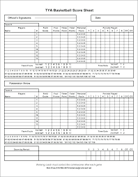 Basketball Score Sheets Mark V Basketball Template Roster Score Sheet Scorecard Mark