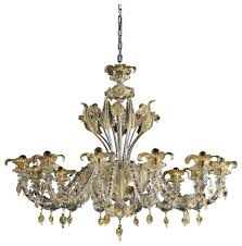 prezioso murano glass chandelier 12 lights