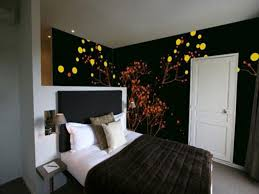 Kids Black Bedroom Furniture Cheap Black Bedroom Furniture Black Wall Theme Featuring White Bed
