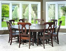 round dining table sets for 6 furniture intended prepare room piece rustic copper with metal base