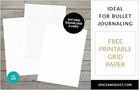 Free Printable Dot Grid Paper Free Printable Dot Grid Paper For Bullet Journaling