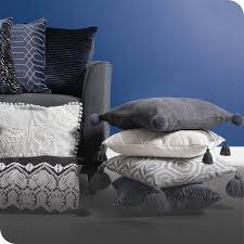 cushions throws blankets the range