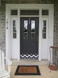 elegant double front doors. Elegant Chevron Designer Door Kick Plate Deck The Decor In Black Plates For Front Doors Plan Double T