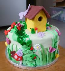 Small Picture Garden Cake Ideas Image Library