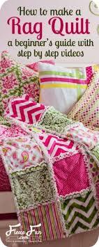 How to make a rag quilt (easy beginner's guide) | Quilting ... & How to make a rag quilt (easy beginner's guide) | Quilting projects, Rag  quilt and Cuddling Adamdwight.com