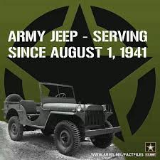 「On August 1, 1941, the first jeep debuts」の画像検索結果