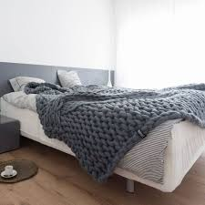 cable knit bedcover