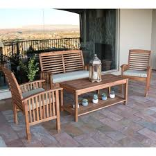 Patio Swing Set Patio Outdoor Rattan Table And Chairs Lighted