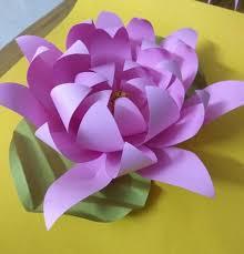 Paper Lotus Flower Paper Lotus Flower