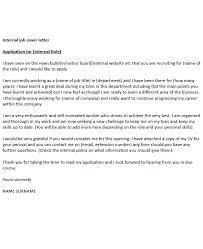 Applying For Internal Position Internal Job Cover Letter Example Icover Org Uk