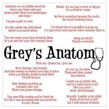 Best Greys Anatomy Quotes Cool Grey's Anatomy Quotes Poster