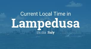 Current Local Time In Lampedusa Italy