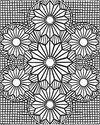 Small Picture Hard mosaic coloring pages for adults ColoringStar