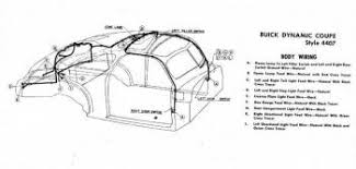 buickcar wiring diagram page  body wiring for 1946 47 buick dynamic coupe style 4407