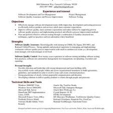 Collection Of Solutions Software Testing Resume Format For