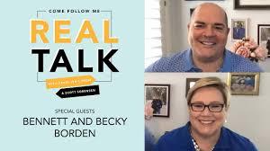 Real Talk & Friends - Bennett and Becky Borden - YouTube