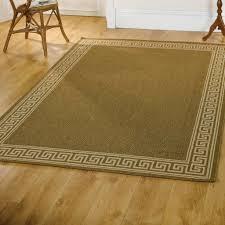 florence flatweave green kitchen rug on wooden floor