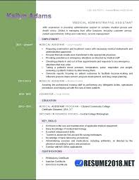 Medical Assistant Resume No Experience Examples Six Templates In