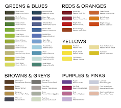 All Colours Chart Noticeboards