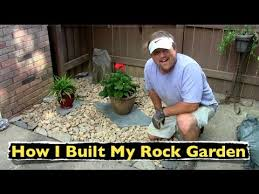 Small Picture How I Built My Rock Garden Backyard Landscaping YouTube