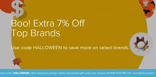 Halloween Gift Cards Expired Raise Save 7 On Select Gift Cards With Promo Code