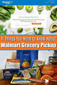 11 Things You Need to Know about Walmart Grocery Pickup