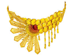 anjali jewellers gold wedding collection. necklace anjali jewellers gold wedding collection