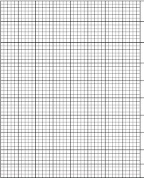 Printable Graphing Paper Graph Template Letter 5 Millimeter 1 Mm