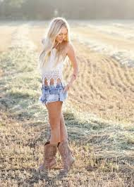 Tank Top Clothes Country Style Shorts Shoes Blouse Country Style Shirts