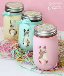 Easter Bunny Mason Jars An Adorable And Easy Easter Craft