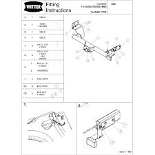 Isuzu rodeo tow bar wiring diagram witter g85 u2013 isuzu rodeo d max