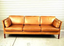 mid century modern brown leather couch sectional sofa living room for faux couches furniture excellent