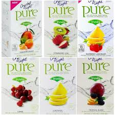 Crystal Light Shake It Off Crystal Light Pure On The Go Drink Mix Variety Pack 6 Flavors 1 Box Of Each Flavor 6 Boxes Total