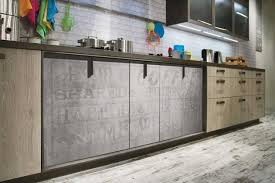 ... Kitchen cabinets with details in industrial style