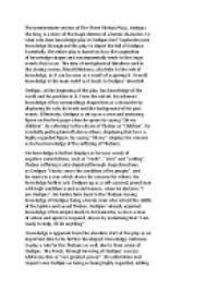 essay on oedipus rex