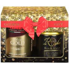 Набор подарочный Kimbo <b>Golden Gift</b>: кофе молотый Kimbo <b>Gold</b> ...