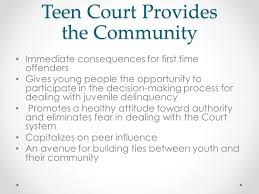 Court system the teen